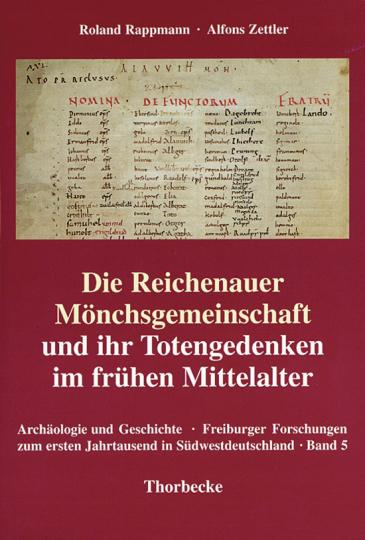 Die Reichenauer Mönchsgemeinschaft und ihr Totengedenken im frühen Mittelalter