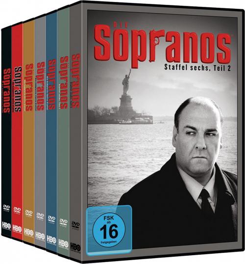 Die Sopranos - Die Komplette Serie. 28 DVDs.