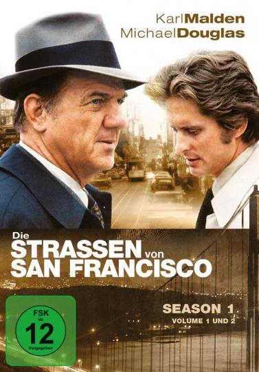 Die Straßen von San Francisco Season 1 8 DVDs
