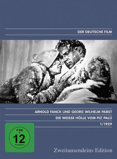 Die weisse Hölle vom Piz Palü. DVD.