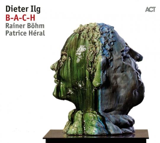 Dieter Ilg. B-A-C-H. Vinyl LP.