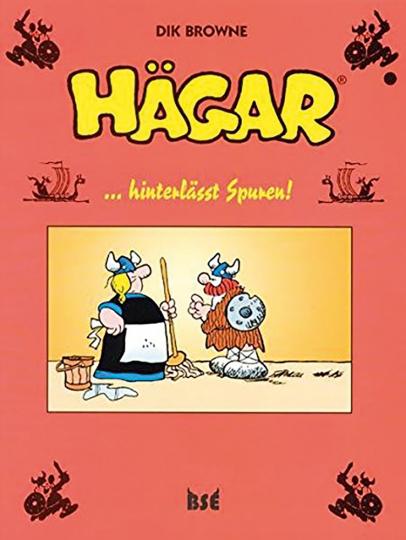 Dik Browne. Hägar hinterlässt Spuren! Band 9. Graphic Novel.