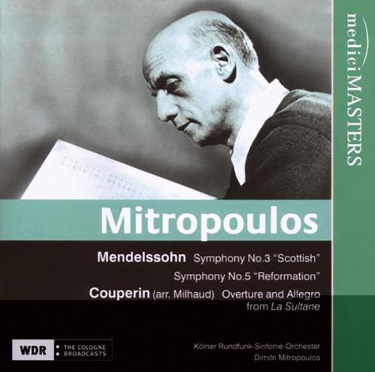 Dimitri Mitropoulos dirigiert. CD.