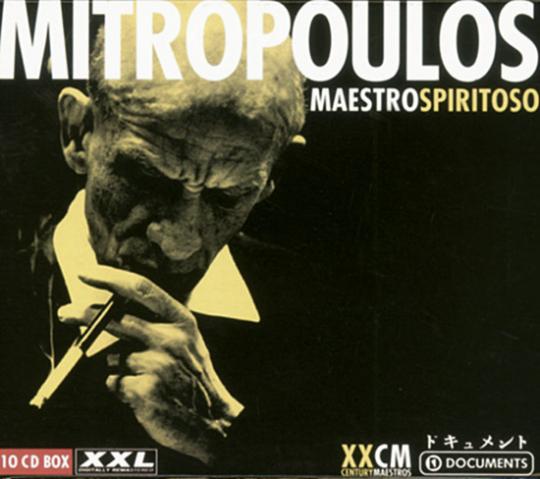 Dimitri Mitropoulos. Maestro Spiritoso. 10 CDs.