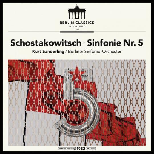 Dmitri Schostakowitsch. Sinfonie Nr. 5. Vinyl LP.