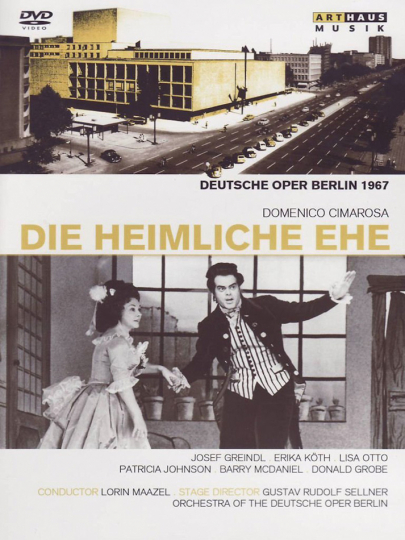Dominico Cimarosa. Die heimliche Ehe. DVD.