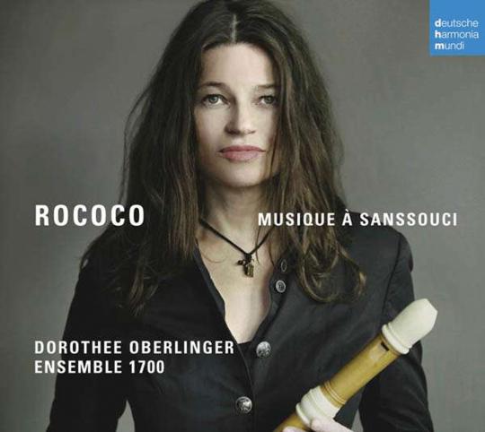 Dorothee Oberlinger. Rococo. Musique à Sanssouci. 1 CD.