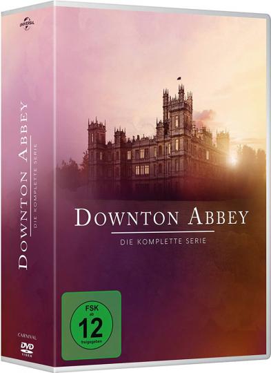 Downton Abbey (Komplette Serie). 26 DVD Box.