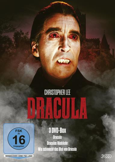 Dracula 1-3. 3 DVDs.