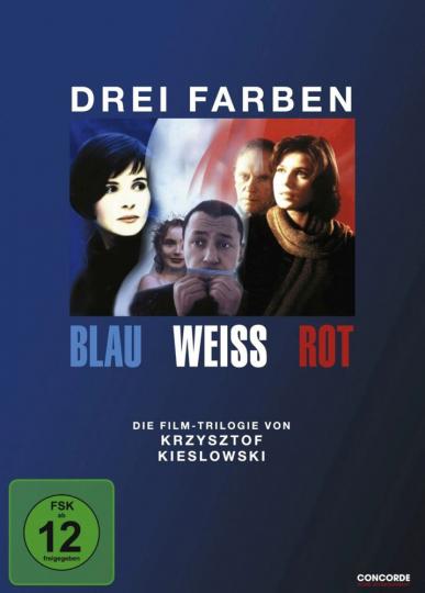 Drei Farben: Blau/Weiß/Rot (Die Trilogie). 3 DVDs.