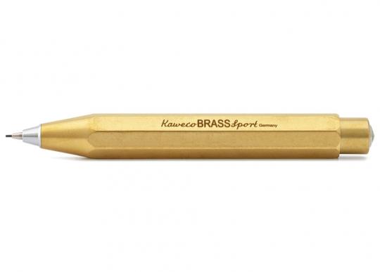 Druckbleistift »Brass Sport«, Messing.