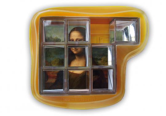 Knobelspiel »Du und Mona Lisa«.