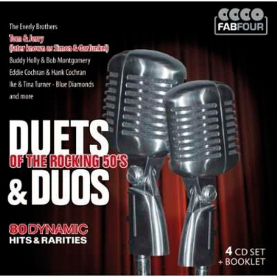 Duets and Duos Of The Rocking 50s. 4 CDs.