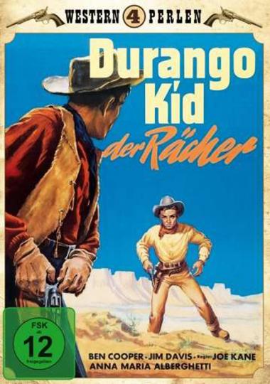Durango Kid der Rächer. DVD.