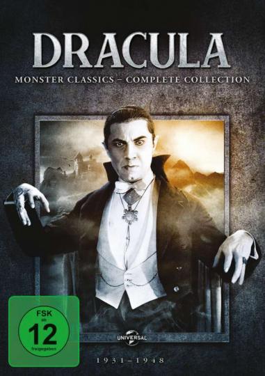 DVDs Dracula: Monster Classics (Complete Collection) 4 DVDs