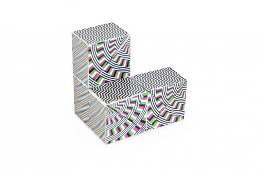 Dynacube. Optische Illusionen.