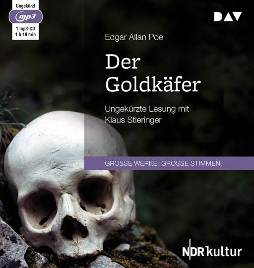 Edgar Allan Poe. Der Goldkäfer. mp3-CD.