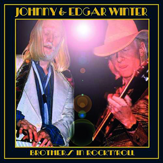 Edgar Winter & Johnny Winter. Brothers In Rock'n'Roll. CD.