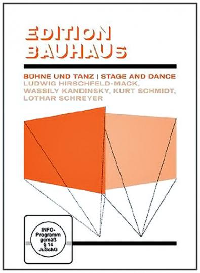 Edition Bauhaus. Bühne und Tanz. Ludwig Hirschfeld-Mack, Wassily Kandinsky, Kurt Schmidt und Lothar Schreyer. DVD.