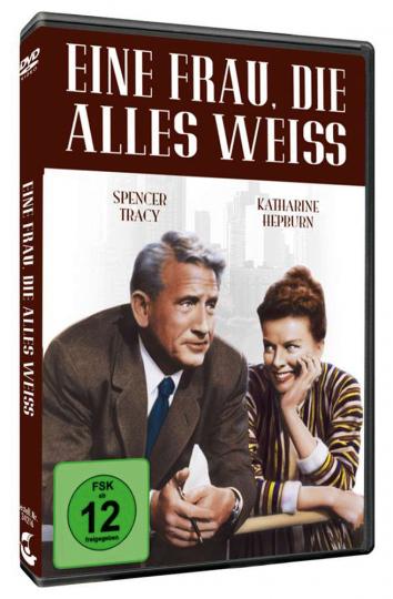 Eine Frau, die alles weiß. DVD.