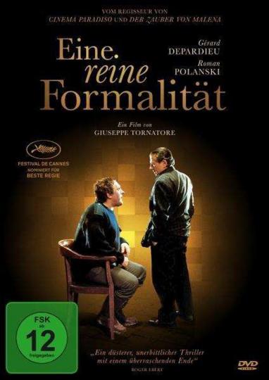 Eine reine Formalität. DVD.