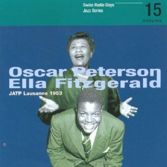 Ella Fitzgerald & Oscar Peterson. Jazz At The Philharmonic - Lausanne 1953. CD.