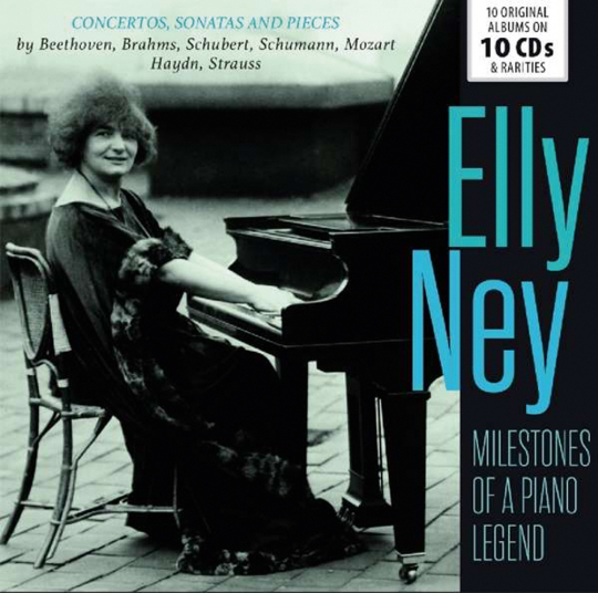 Elly Ney. Milestones of a Legend. 10 CDs.