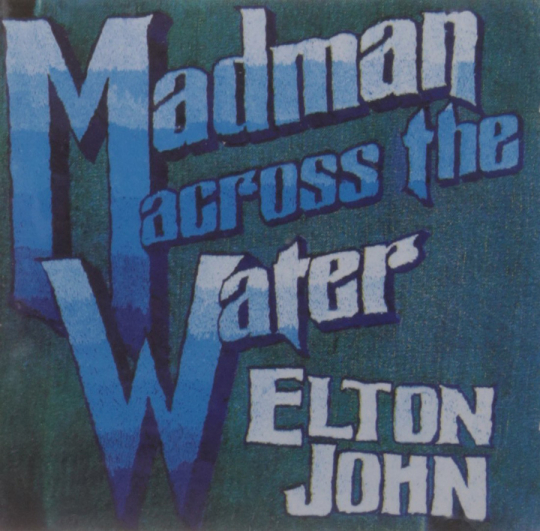 Elton John. Madman Across The Water. CD.