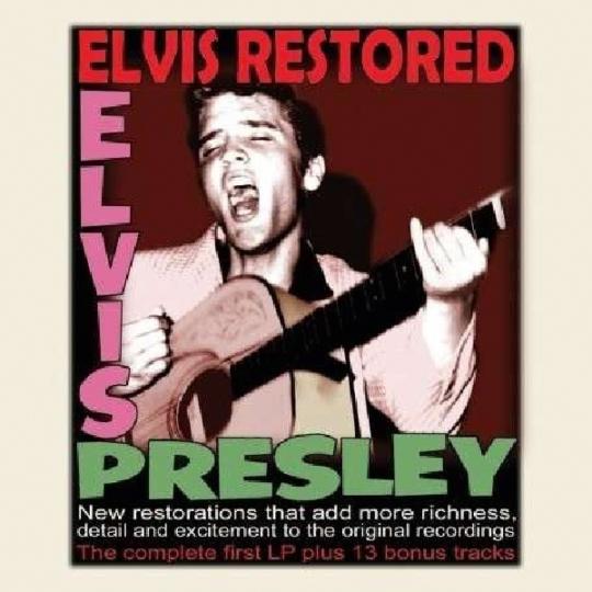 Elvis Presley. Elvis Restored. CD.