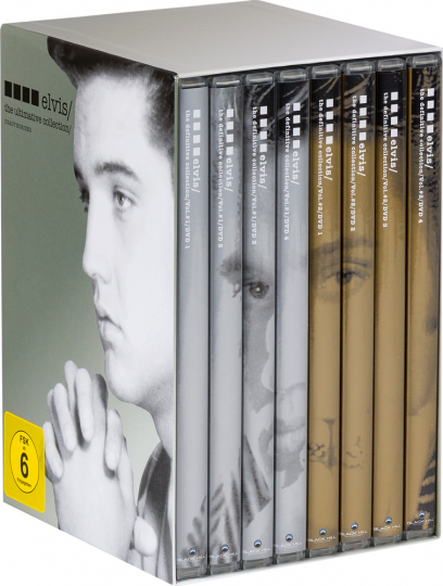 Elvis - The Ultimative Collection. 8 DVDs.