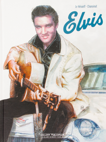 Elvis. Graphic Novel.