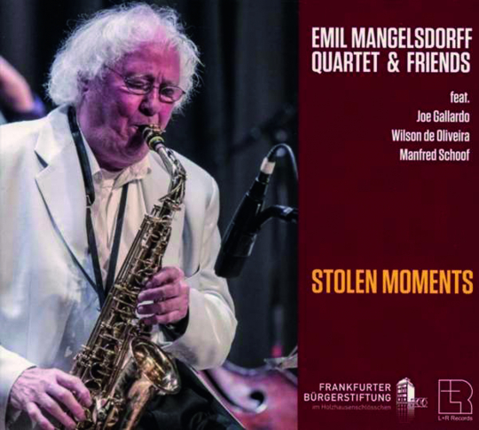 Emil Mangelsdorff Quartet. Stolen Moments. CD.