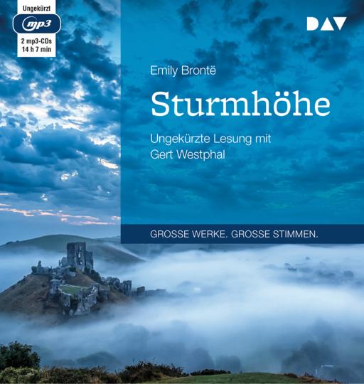Emily Brontë. Sturmhöhe. 2 mp3-CDs.