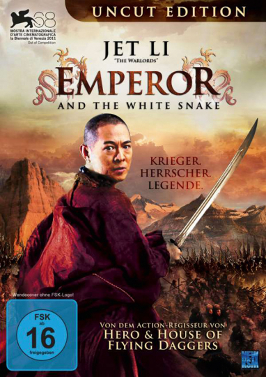 Emperor And The White Snake. DVD.