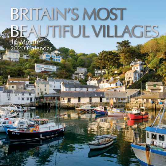 Englands schönste Dörfer. Wandkalender 2020.