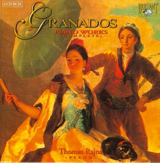 Enrique Granados: Sämtliche Klavierwerke. 6 CD Set.