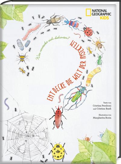 Entdecke die Welt der Insekten. National Geographic KiDS.