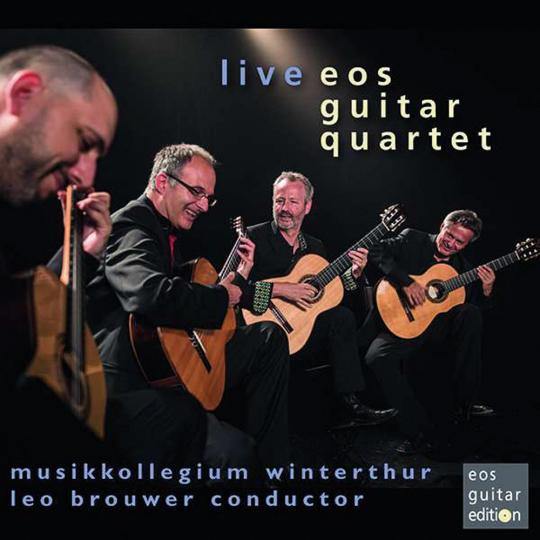 Eos Guitar Quartet. Live. CD.
