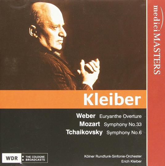 Erich Kleiber dirigiert Tschaikowsky, Weber & Mozart. CD.