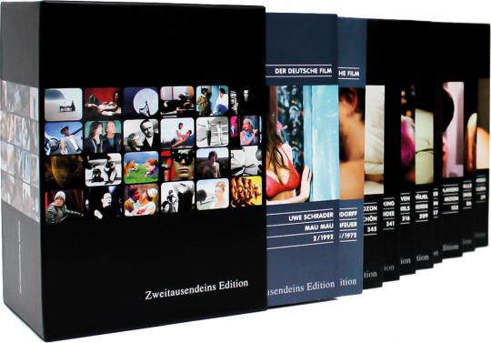 Erotik International Filmpaket - Die Box. 10 DVDs.