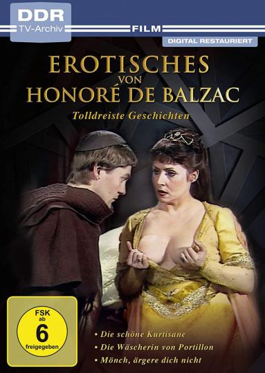 Erotisches von Honoré de Balzac. Tolldreiste Geschichten. DVD.