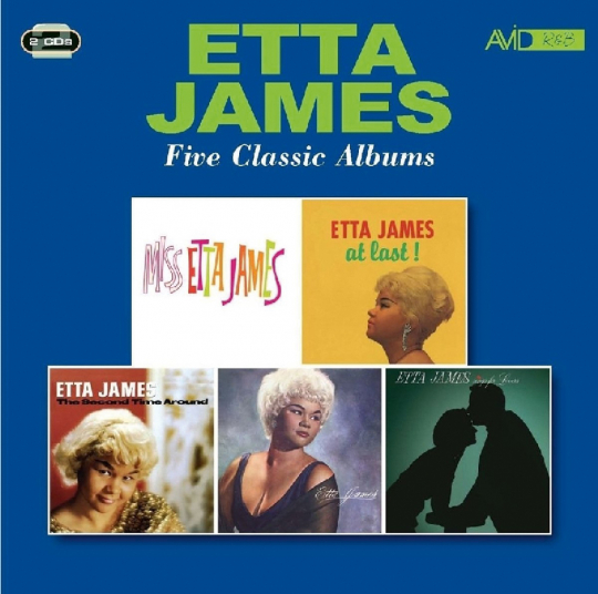 Etta James. Five Classic Albums. 2 CDs.