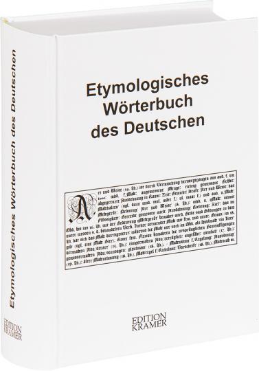 Etymologisches Wörterbuch des Deutschen. Erarbeitet unter der Leitung von Wolfgang Pfeifer.