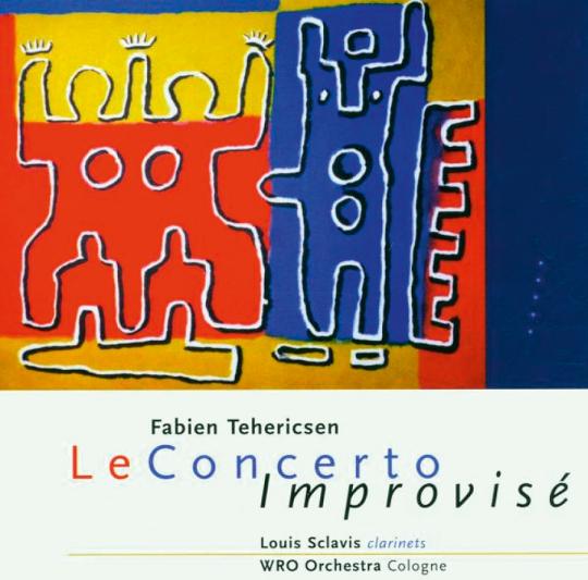 Fabien Tehericsen. Le Concerto Improvise. CD.