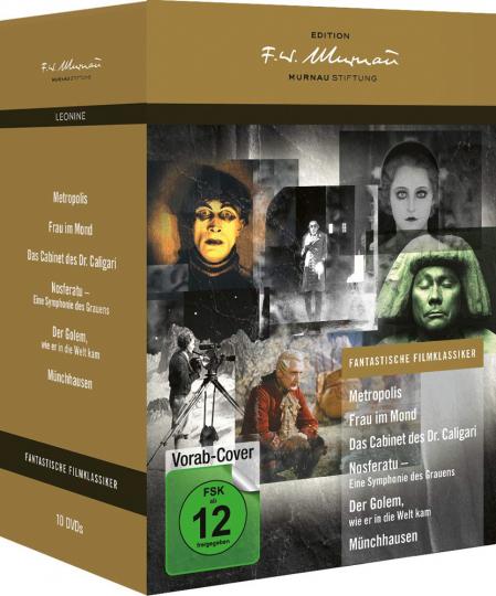 Fantastische Filmklassiker - Edition F.W. Murnau. 10 DVDs.