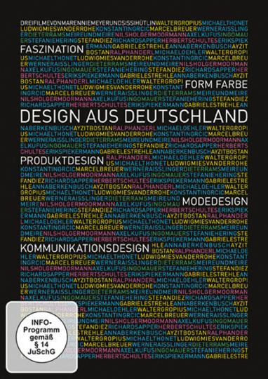 Faszination, Form, Farbe. Design aus Deutschland. Produktdesign - Modedesign - Kommunikationsdesign. DVD.