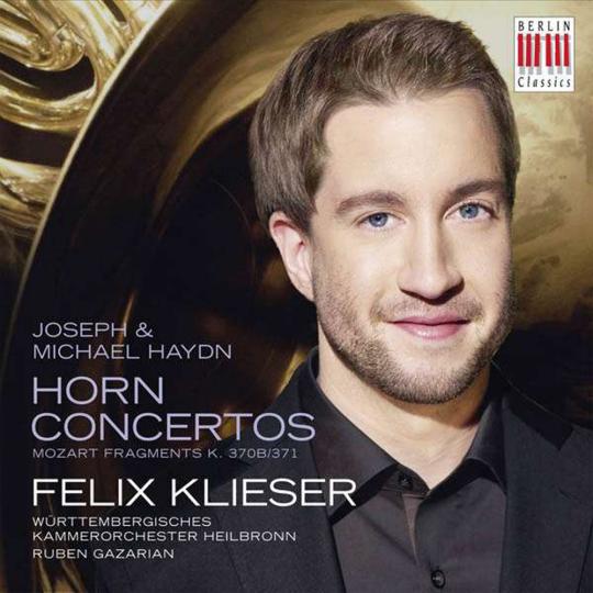 Felix Klieser. Horn Concertos. CD.