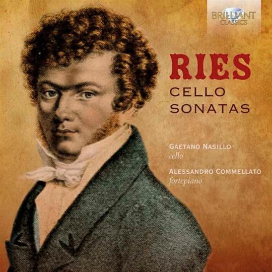 Ferdinand Ries. Cellosonaten. CD.