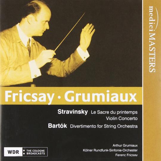 Ferenc Fricsay dirigiert. CD.