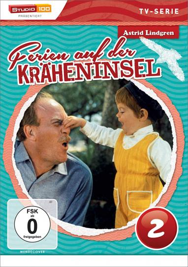 Ferien auf der Kräheninsel Vol. 2. Kinderserie von Astrid Lindgren.DVD.